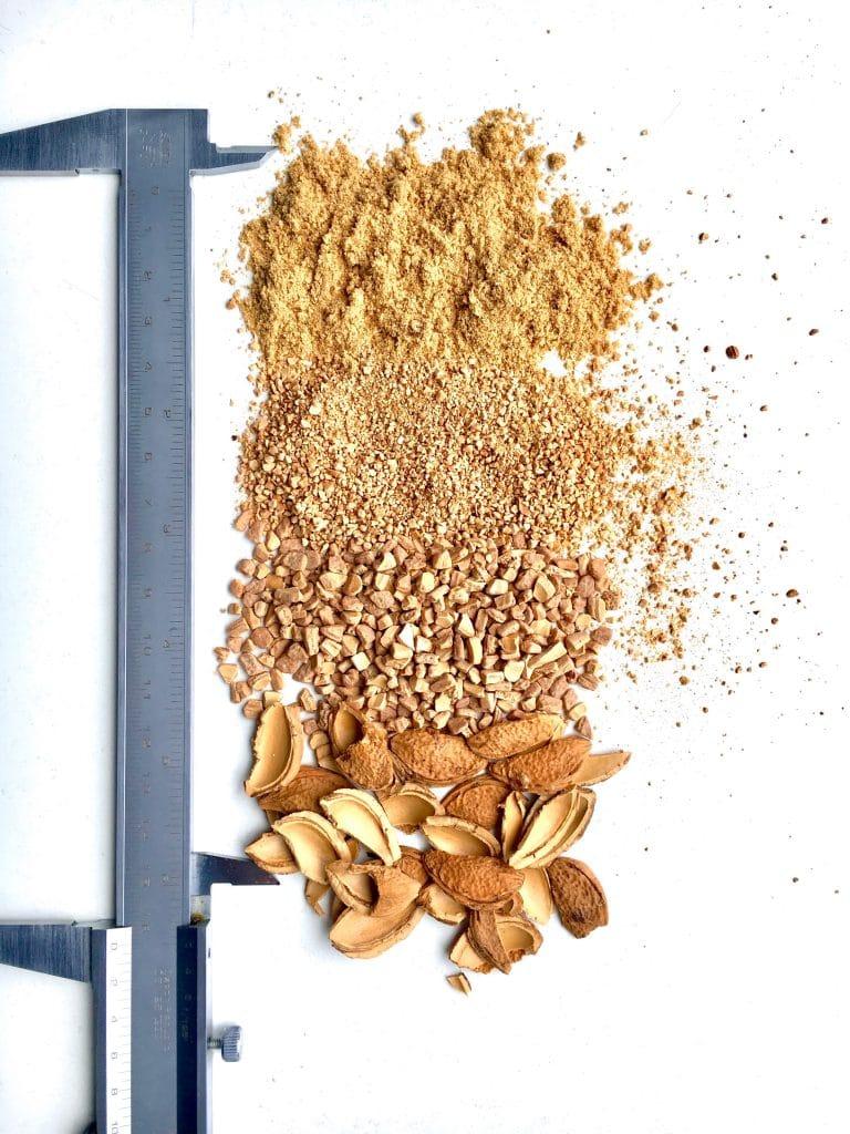 Aprikosenschalen Kirschkernschalen pflaumenkernschalen marillenkern schalen granulat hard shell
